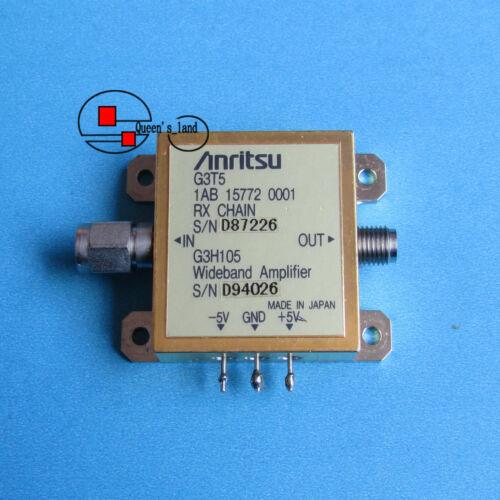 1× Anritsu G3T5 G3H105 30KHz-18GHz 20dB 10dbm 2.92mm Wideband Amplifier