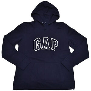 Gap Hoodie Pullover Sweatshirt Womens Applique Arch Logo Fleece xs s m l xl xxl