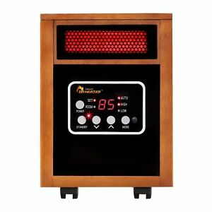 Dr. Infrared Heater 1,500 Watt Infrared Cabinet Space Heater