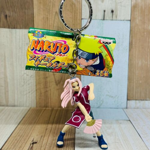 Banpresto 2003 Naruto Figure Keychain Sakura Haruno