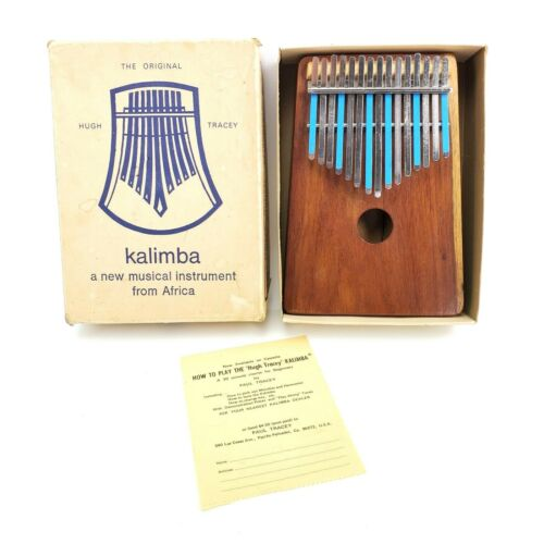 The Original Hugh Tracey Kalimba 15 Key Alto Vintage 1960s Thumb Piano
