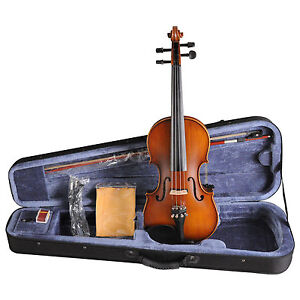 Acoustic-electric-violin-with-EQ-4-strings-with-FOAMED-CASE-BOW-ROSIN-VE102B