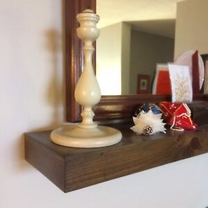 """Install these 2 1/2"""" Floating Shelves in time for Christmas"""