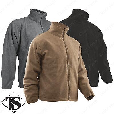 Microfleece Polar Fleece (Tru-Spec Polar Fleece Jacket - 100% Polyester Microfleece )