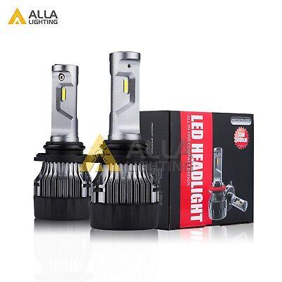 Alla Lighting 10000lm 9006 LED Low/Main/ Beam Headlight Light Bulbs Lamps, White