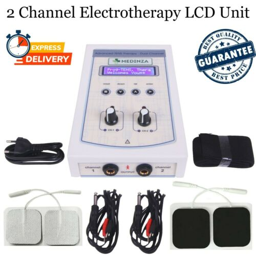 Prof. Home use 4 Channel Electrotherapy Physical Pain Relief Pulse Massager Unit