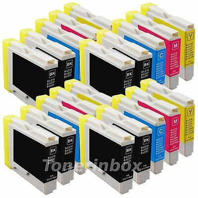 20 Pack LC51 LC-51 Ink for Brother MFC-230C MFC-240c MFC-885c MFC-465cn MFC-5860 Brother Lc51 Compatible Ink