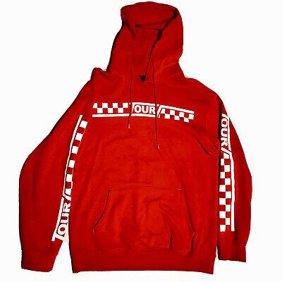 Justin Bieber Hoodie ~ Medium ~ Official Tour Merchandise ~ Red ~ Men