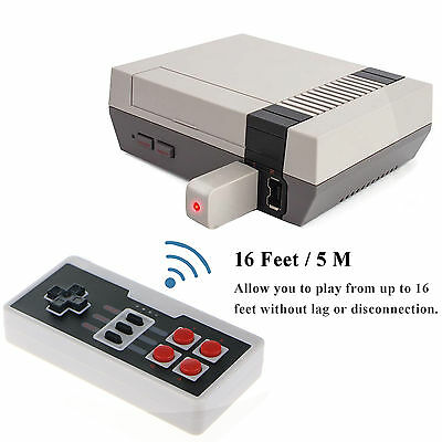 Wireless Mini Game Controller Gamepad For Nintendo Nes Classic Edition Console