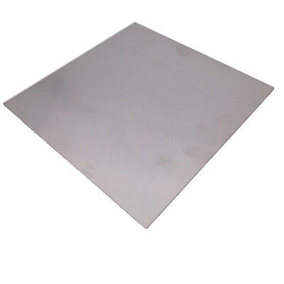 Us Stock 2pcs 1mm X 5 X 5 304 Stainless Steel Fine Polished Plate Sheet