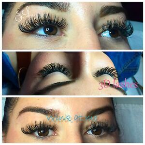 Extension de cils / lashes 3D, fournis! METRO CREMAZIE
