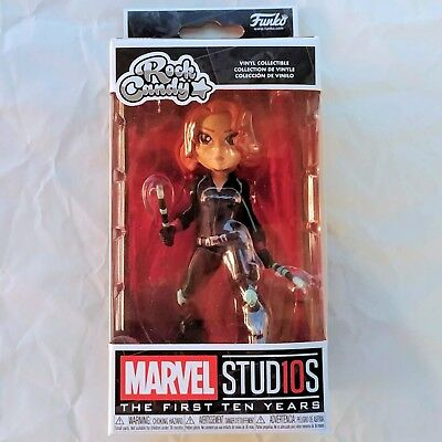 BLACK WIDOW Marvel Studios 10th Anniversary Funko Rock Candy Vinyl Figure NIB