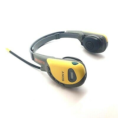 Sony SPORTS SRF HM55 Walkman FM/AM Stereo Headphone Radio Headset Mega Bass AVLS for sale  Shipping to India