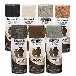 Rust Oleum American Accents Stone Textured Spray Paint