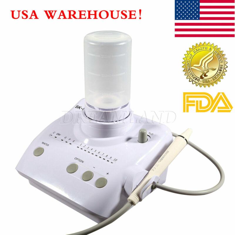 Auto Portable Dental Ultrasonic Scaler Handpiece Tips Bottles f/ EMS WOODPECKER