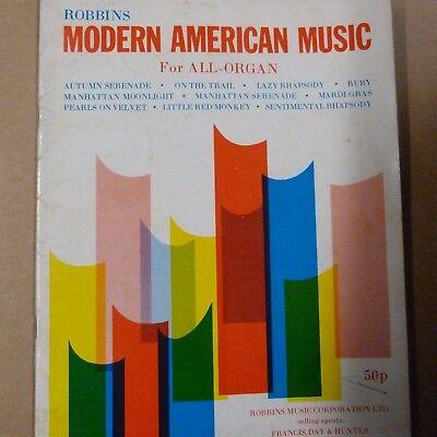 all organ ROBBINS MODERN AMERICAN MUSIC