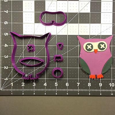 Halloween Owl 101 Cookie Cutter -