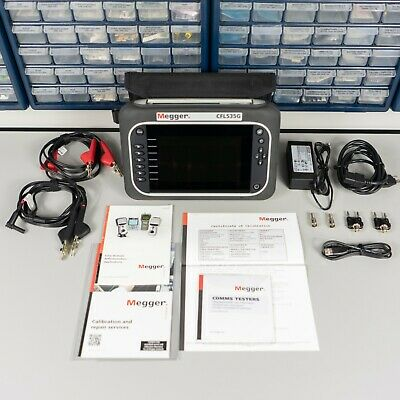 Megger Cfl535g Tdr20003 Advanced Dual Channel Time Domain Reflectometer