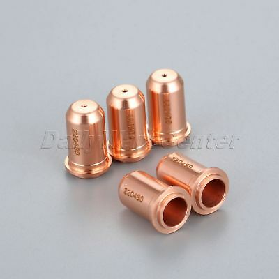 5pcs Plasma Cutting Torch Electrode 220480 30a For Powermax 30 Consumable Parts