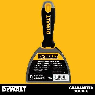 Dewalt Putty Knife 5 Stainless Steel Flexible Drywall Joint Paint Scraper