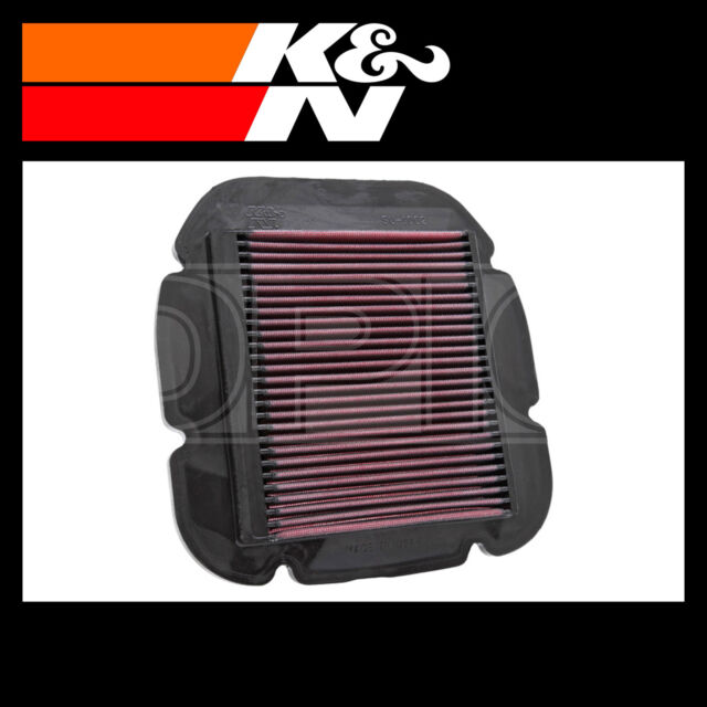 K&N Motorcycle Air Filter - Fits Suzuki, Kawasaki - SU-1002
