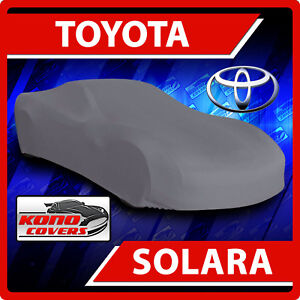 Toyota Solara Convertible 2004-2008 CAR COVER - 100% Waterproof 100% Breathable