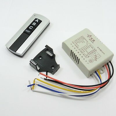 Light Switch 3 Button Wireless Remote Control RF Controller Way 240V