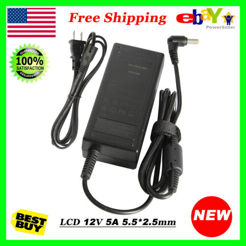 12V 5A Adapter Charger Power Supply Cord for Acer AG Neovo