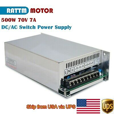 From Usa500w 70v 7a Single Output Dcac Switching Power Supply For Cnc Router
