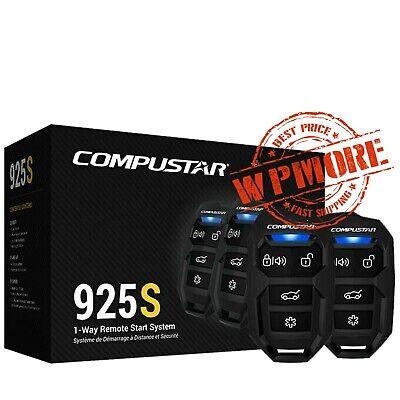 Compustar CS925 S 1-Way 1500-FT Range Remote Start and Keyless Entry System