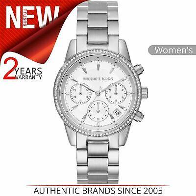 Michael Kors Ritz Ladies Watch MK6428|Chronograph Dial|Stainless Steel Strap