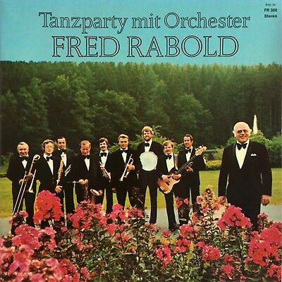 Orchester Fred Rabold - Tanzparty mit Fred Rabold PSYCH LIBRARY FUNK LP MINT!