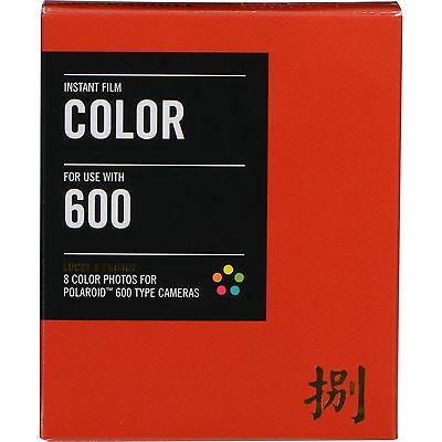 Impossible PRD3216 Color Instant Film for Polaroid 600 Cameras - Lucky 8 Edition