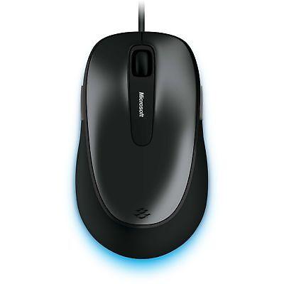 Microsoft Usb-maus (Microsoft Comfort Mouse 4500, Maus, BlueTrack, 1000dpi, USB, 5 Tasten, schwarz)