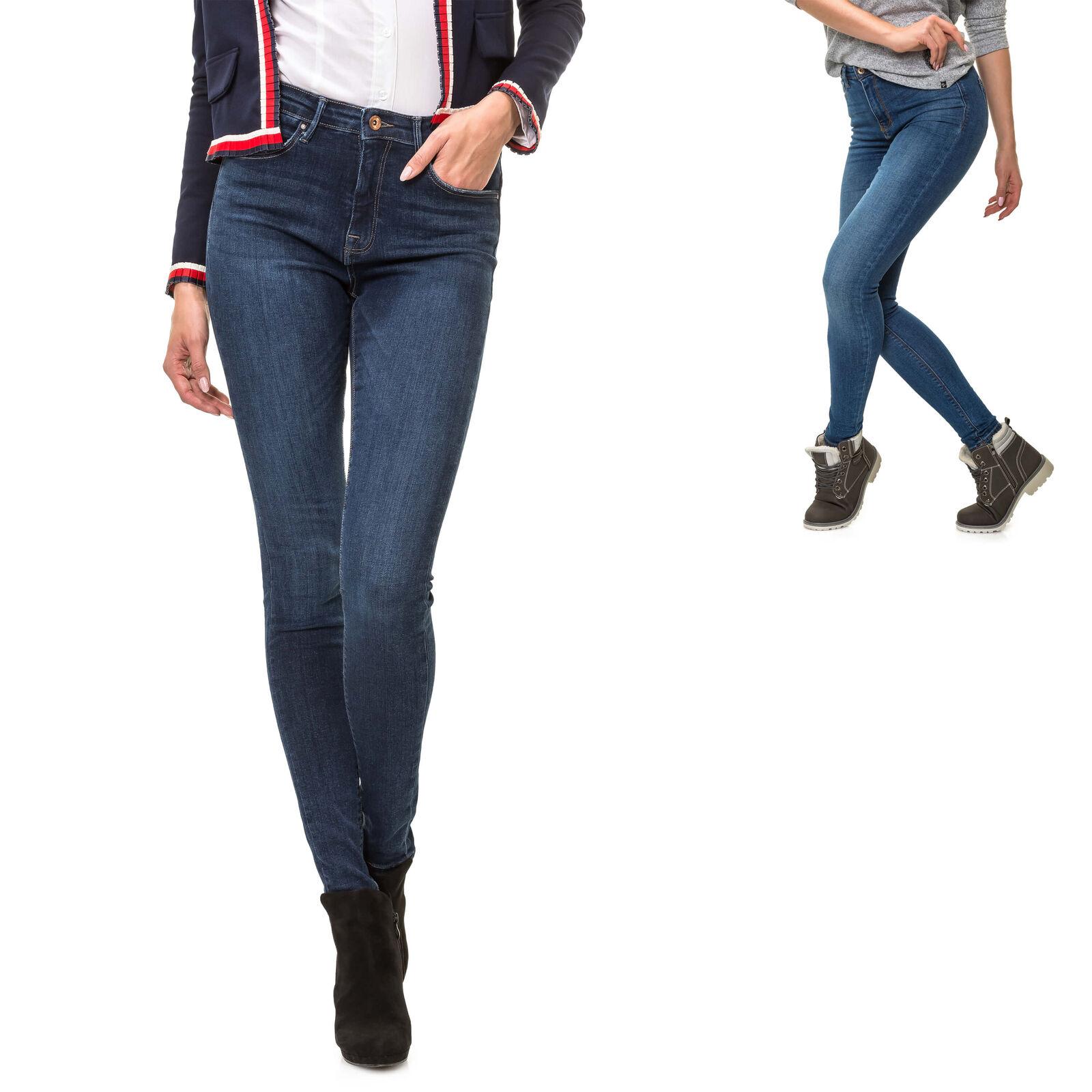 Only Damen High Waist Skinny Jeans Denim Stretchhose Damenhose Lange Hose Slim