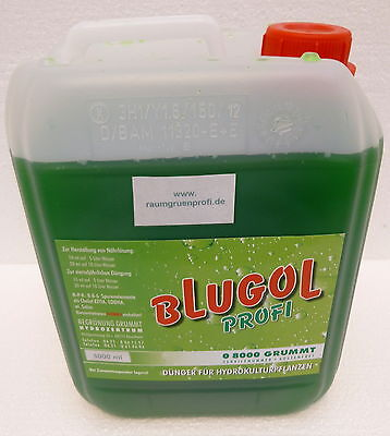 5000ml Hydrokultur Dünger  Blugol *PROFI*   Flüssigdünger Hydrodünger Konzentrat