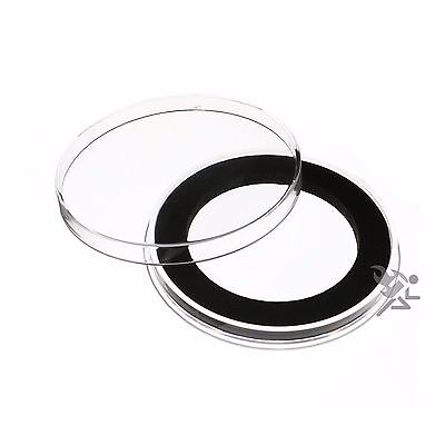 Air-Tite Brand Y48mm Black Ring Capsule Holders for 2oz Silver Libertad Qty: 10