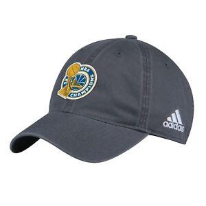 OSFA Adidas GOLDEN STATE WARRIORS Champions Cap NBA Basketball Hat Jersey Mens