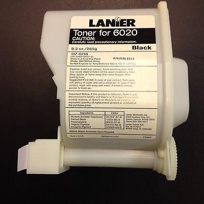 Toner Cartridge Lanier 6020 - 265g 117-0114 N24z091z211 Black