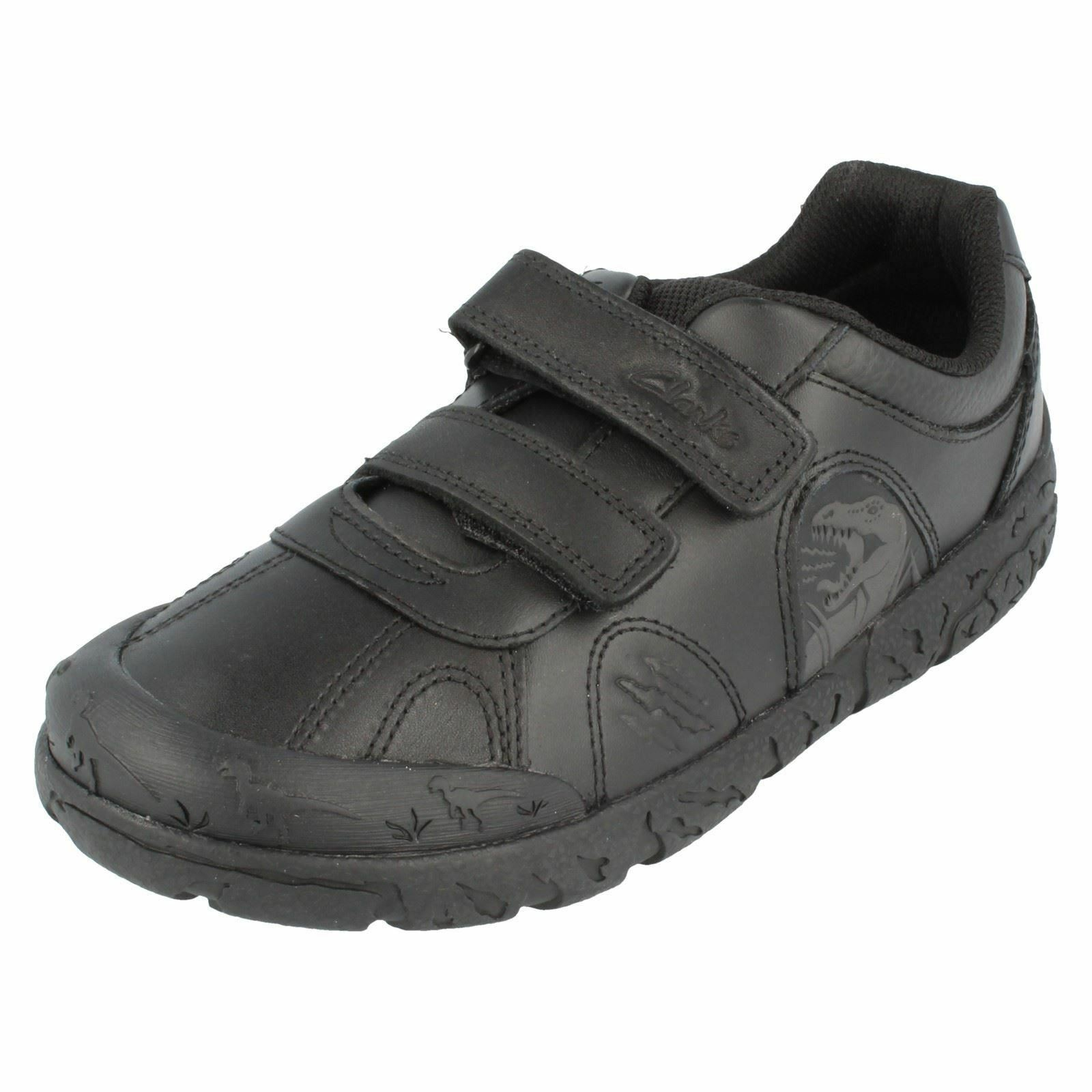 Boys Clarks School Shoes - Brontostep