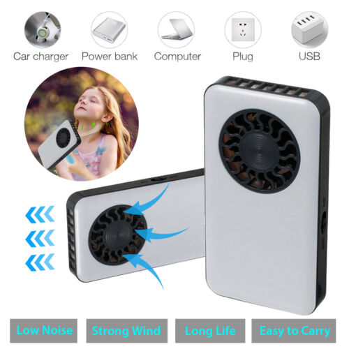 Summer Cooling Fan Battery Operated Personal Rechargeable Po