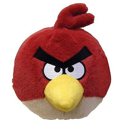 """Angry Birds RED Bird Plush with Sound 8.75"""""""