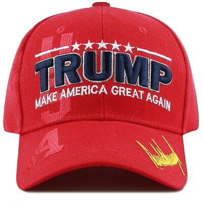 The Hat Depot Exclusive Trump Hat  45th President Make America Great Again-Red