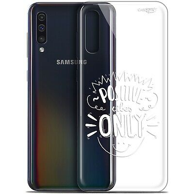 "Coque Gel Samsung Galaxy A50 (6.4"") Extra Fine - Positive Vibes Only 1"