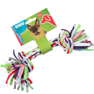 Hundespielzeug Buntes Tau ca. 25 cm Zerrspielzeug Hund Hunde Apportieren 54927