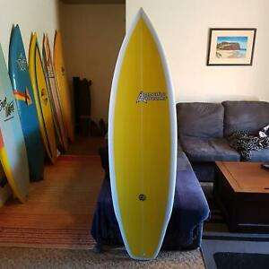 """5'11"""" Sage Joske shaped Surfboard"""