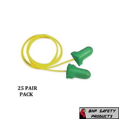 Howard Leight Max Lite Lpf-30 Corded Disposable Foam Ear Plugs Nrr 30 25 Pair
