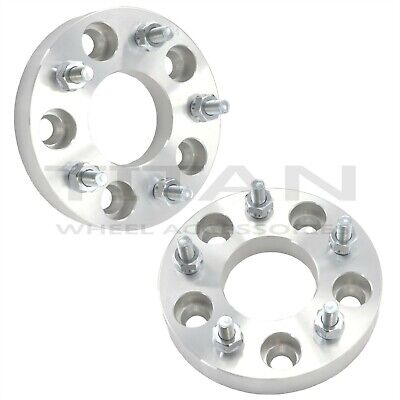 "Set of 2 1"" 5x4.75 to 5x5 Wheel Adapters Spacers 