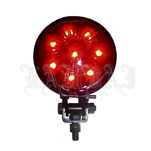 Motorcycle-Rear-Light-LED-Tail-Light-Brake-Light-Red-Bobber-Chopper-Round