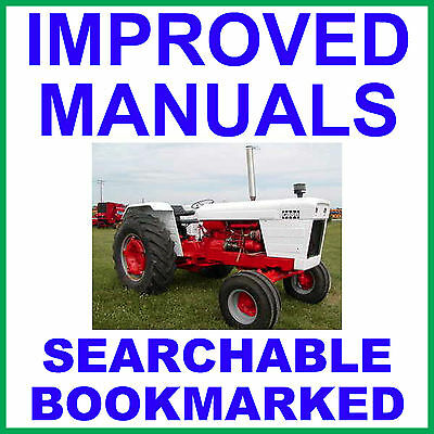 Case David Brown 1212 1410 1412 Tractor Service Shop Manual - Searchable Cd